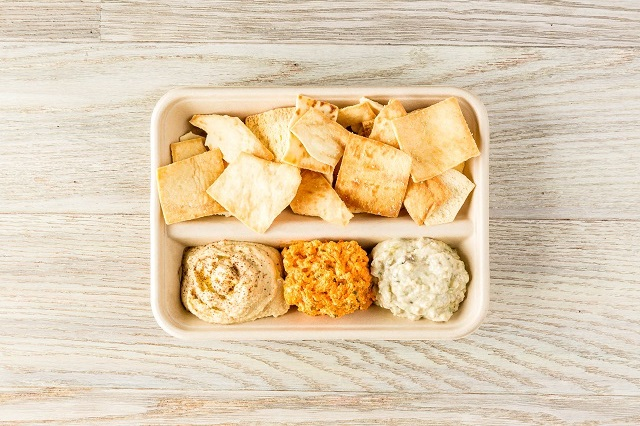 Spread Trio with Pita Chips